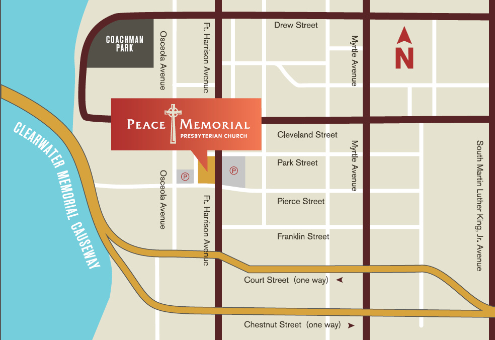 Map of Peace Memorial